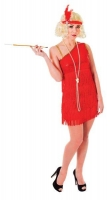 Flapper Dress 'Red'